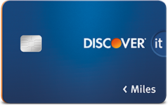 Discover It Miles Blue Card Art