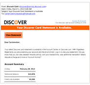 Email Safety Security Information Discover Card
