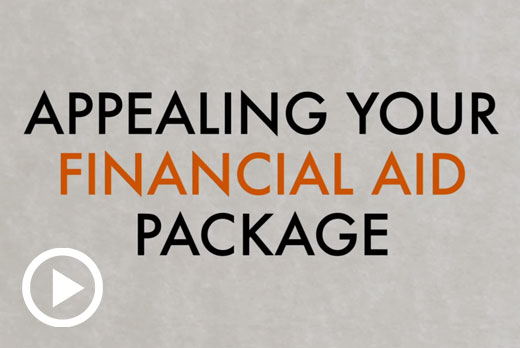 Appealing Financial Aid - Financial Aid