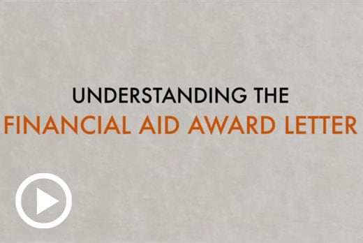What is an Award Letter - Financial Aid
