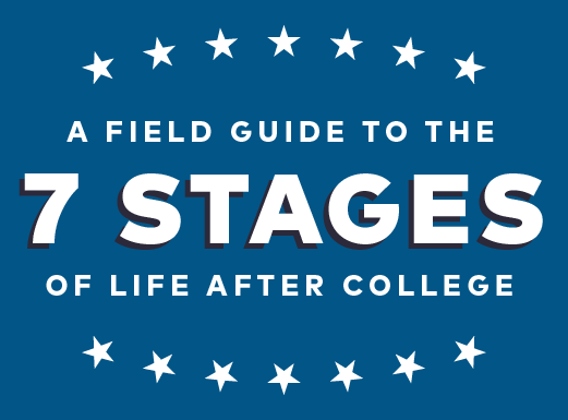 A Field Guide to the 7 Stage of Life After College