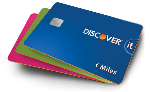 Travel Credit Card Discover it Miles Discover Credit Card