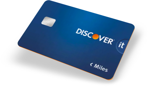 Compare Discover it Miles card with competitors