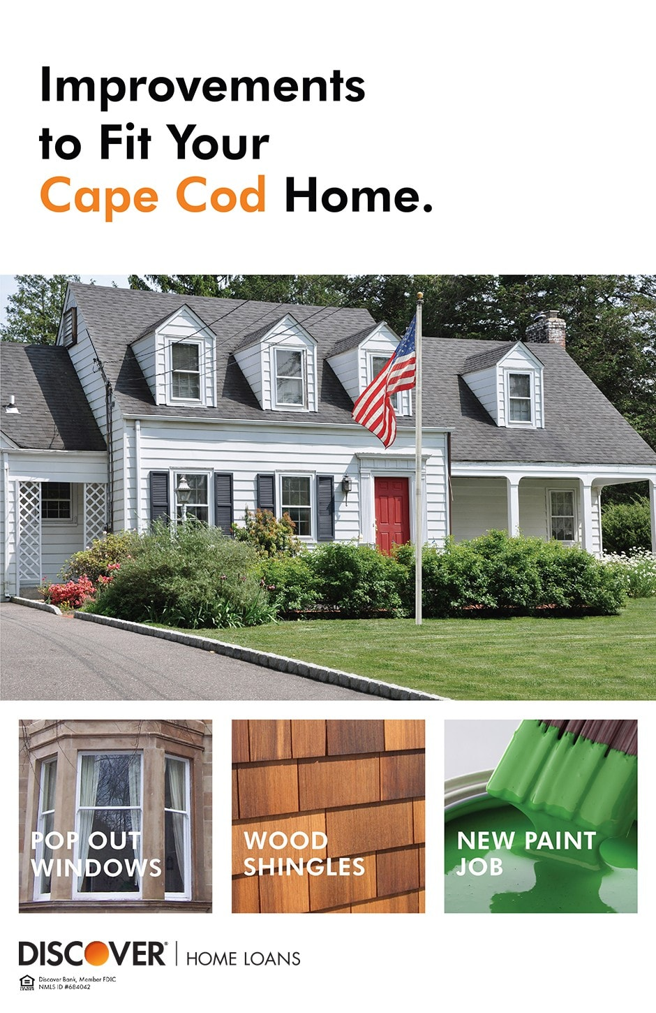 Renovation and style ideas for a cape cod home