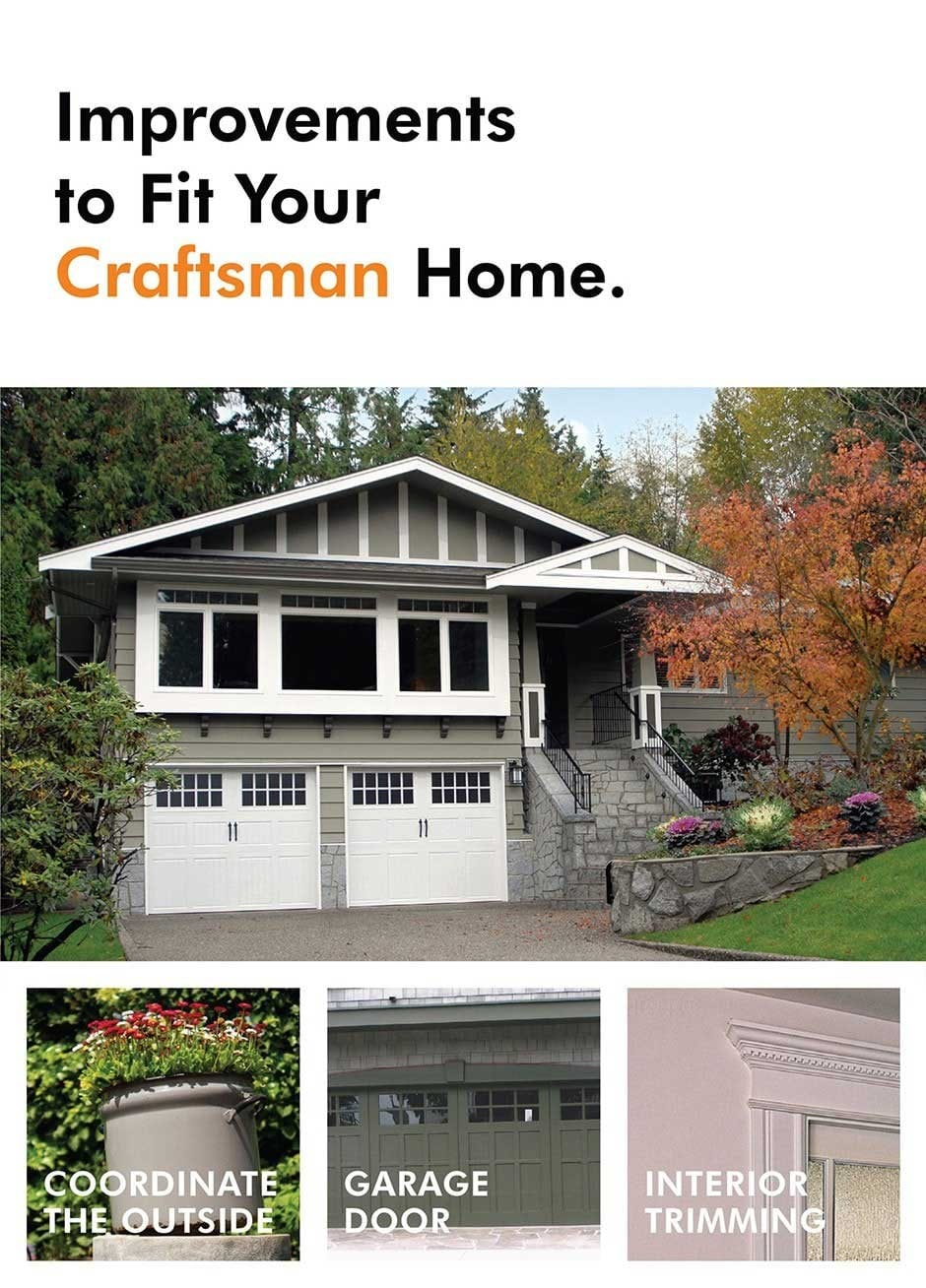 Home improvement ideas for a craftsman home