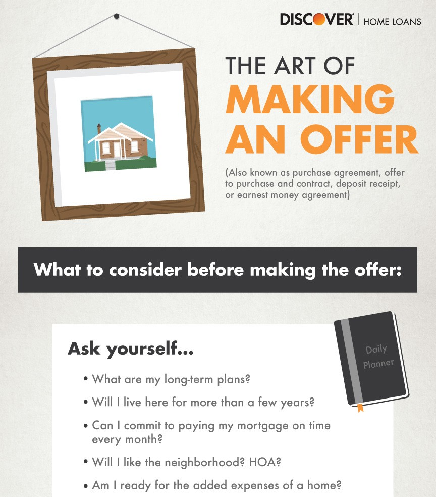 The art of making an offer on a home 1