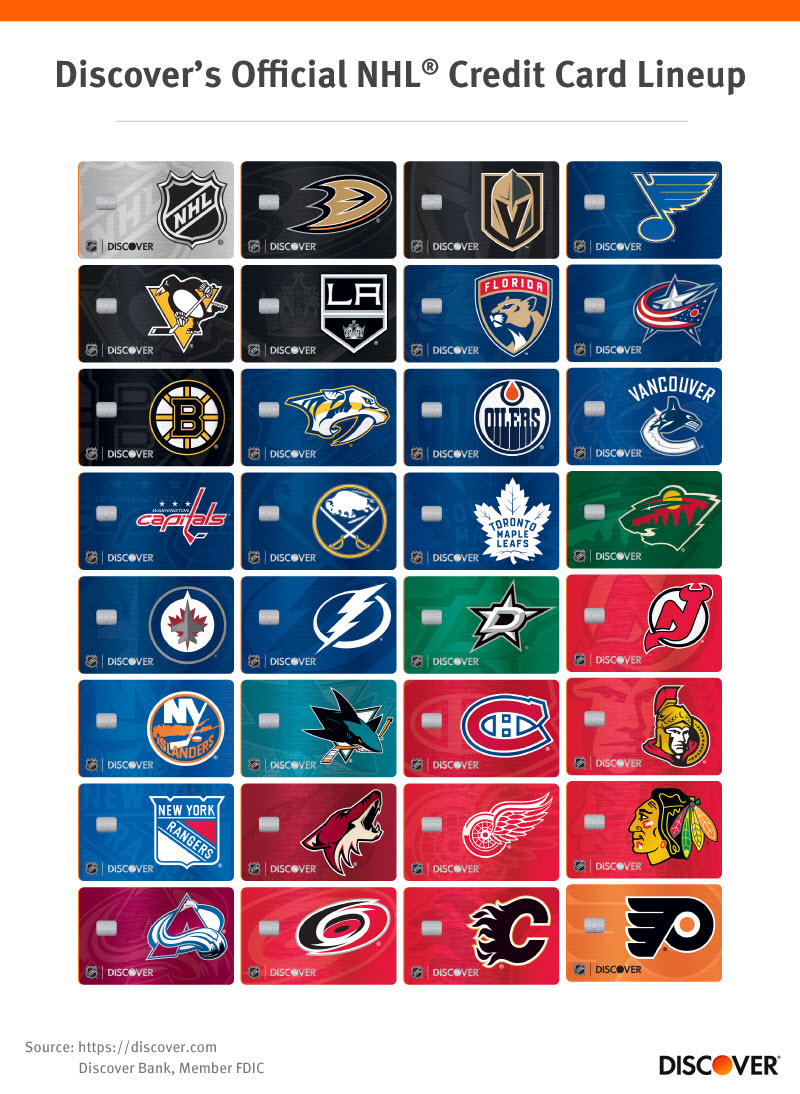 new styles 72835 1fd16 Top Perks of Discover's Official NHL Credit Card | Discover