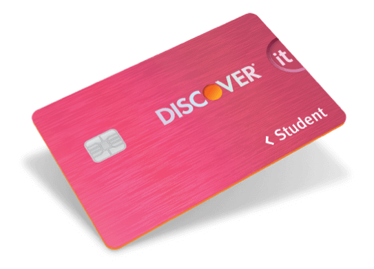 Discover it® Student Cashback Card