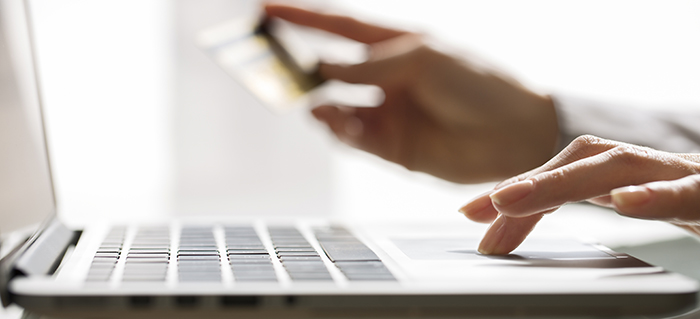 handle credit card payments; credit card goes delinquent
