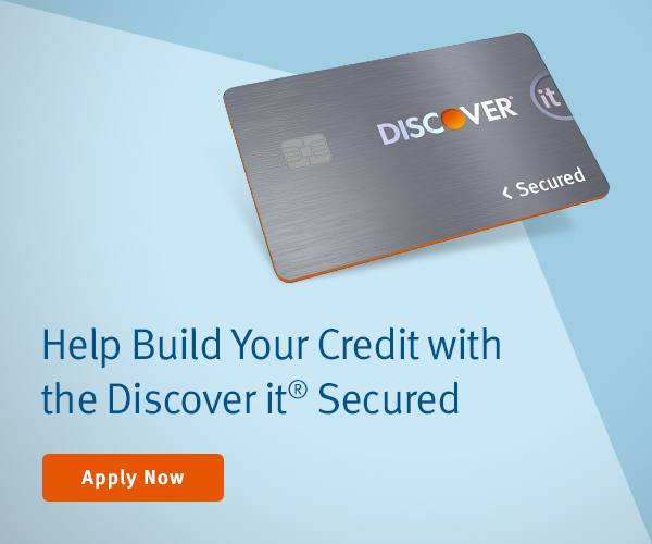 Help build your credit with the Discover it® Secured. Apply Now.