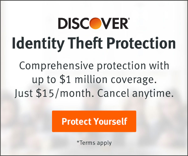 Identity Theft Protection. Comprehensive protection with up to $1 million coverage. Just $15/month. Cancel anytime. Protect Yourself. Terms Apply.