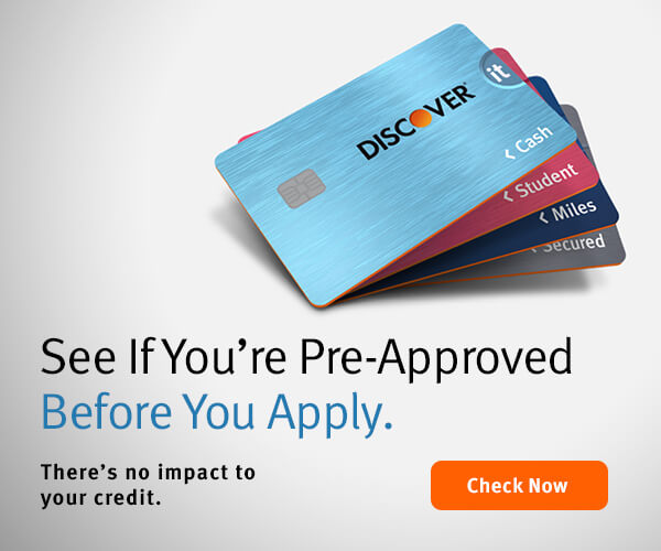 Walmart Credit Card Pre Approval >> What Does Preapproved Mean Discover