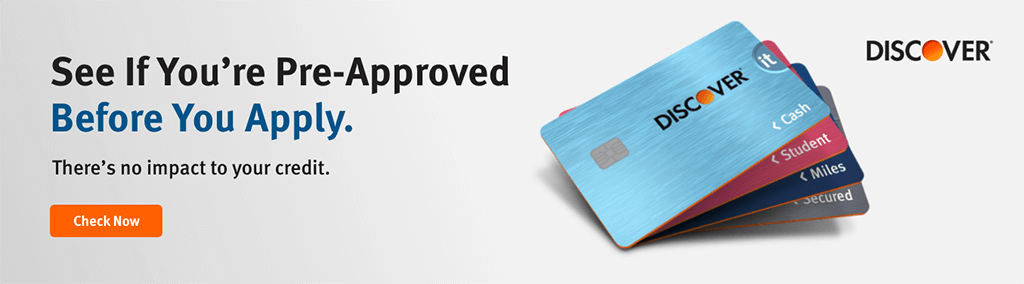 See If You're Pre-Approved Before You Apply. There's no impact to your credit. Check Now