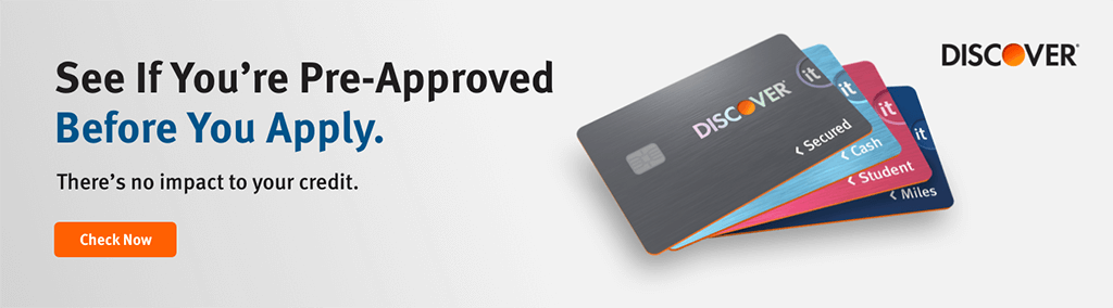Graduating from a Secured to an Unsecured Credit Card Discover