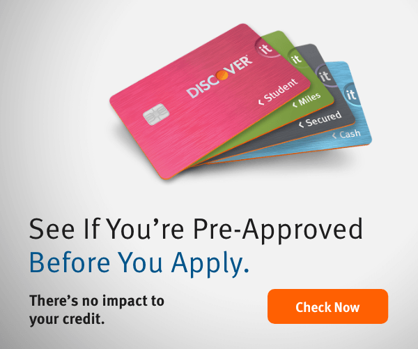 What is an Instant Approval Student Credit Card?  Discover