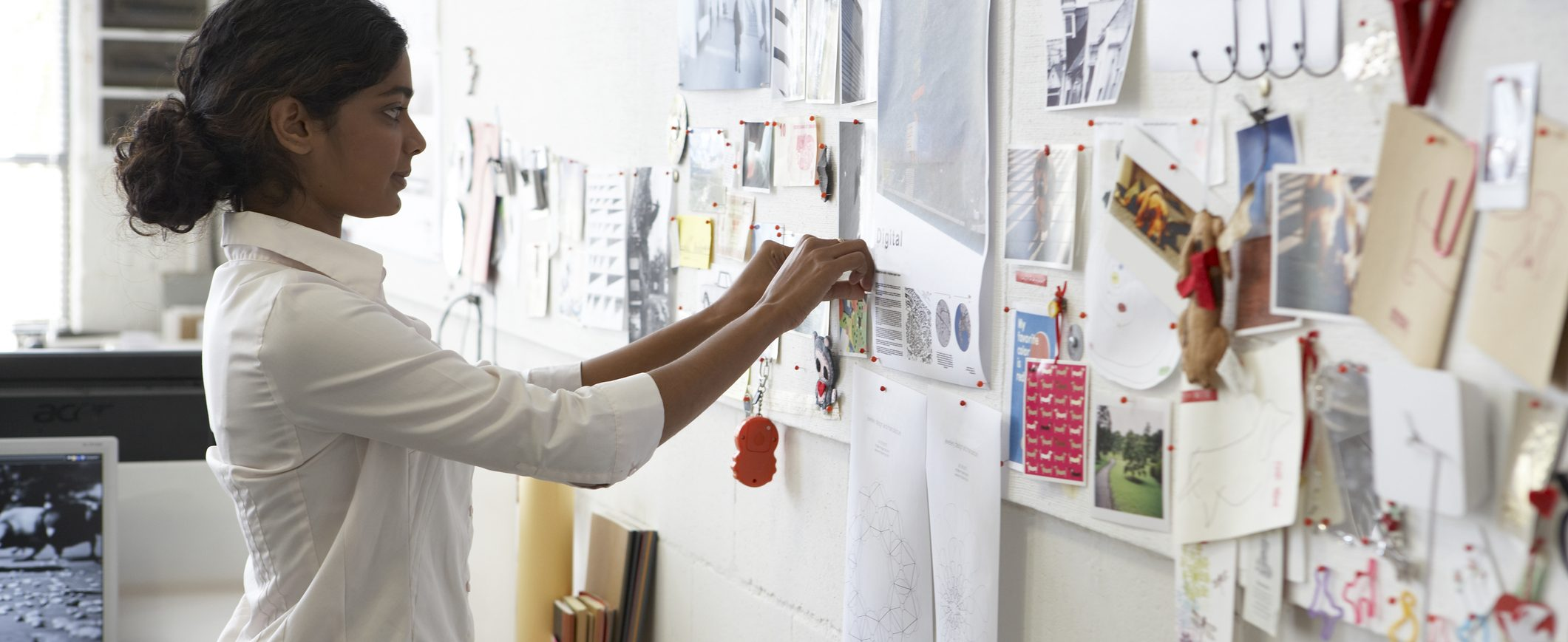 Creating a vision board can help you visualize your savings goal