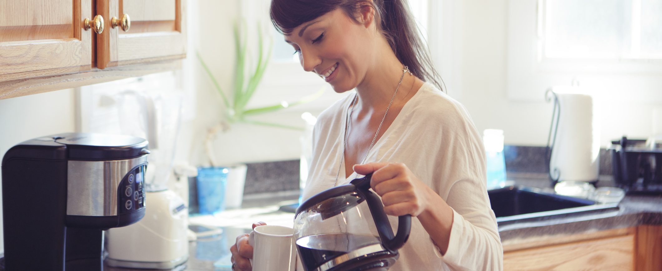 Making coffee at home is an easy way to cut back on your daily spending