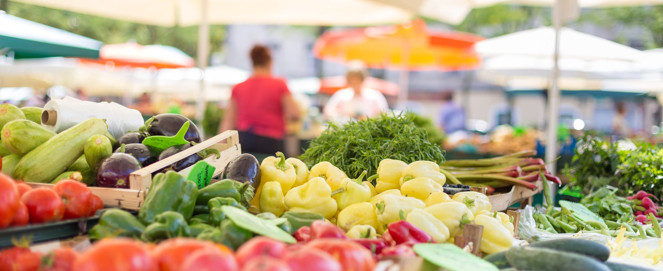 Shopping for fresh, healthy ingredients can actually help you save money