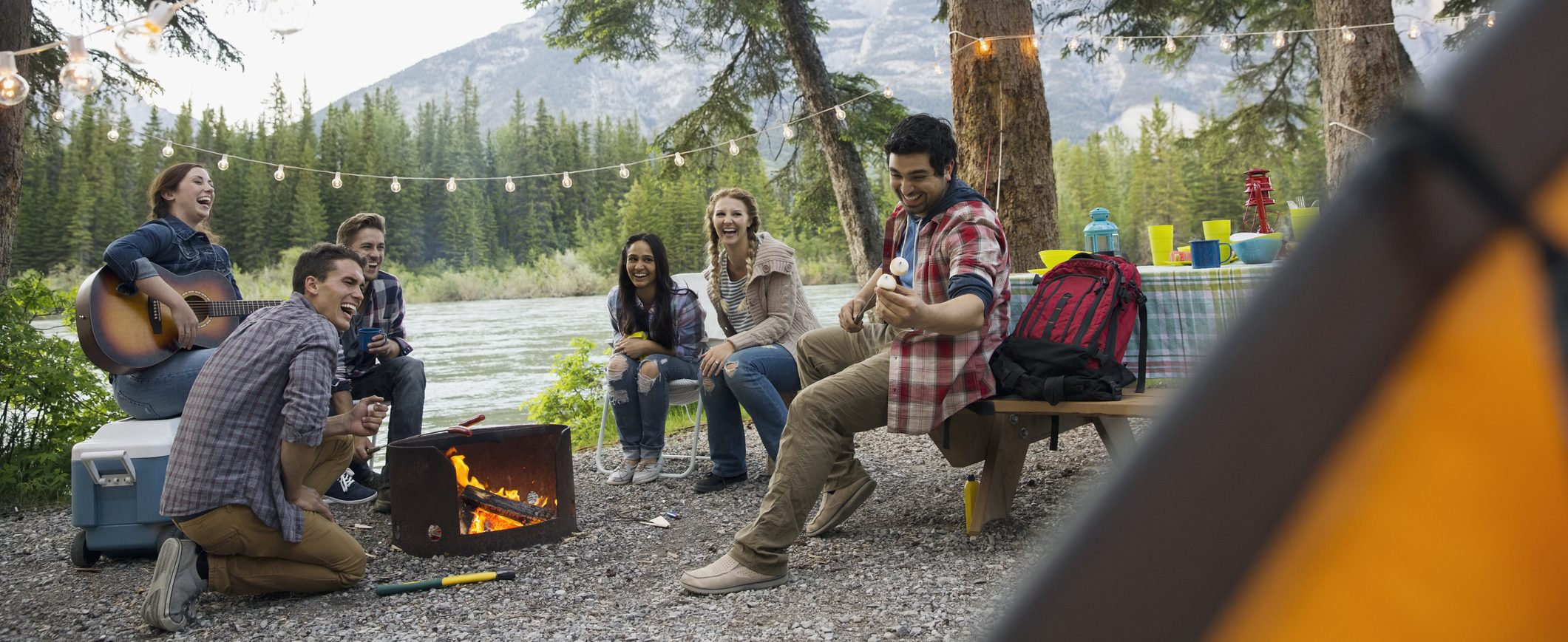 A quick camping getaway is a great way to save money on weekend trips